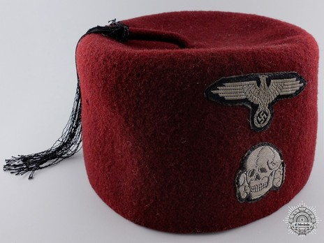 Waffen-SS Dress Fez Profile