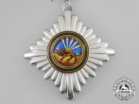 Order of Homayoun, V Class Knight Obverse