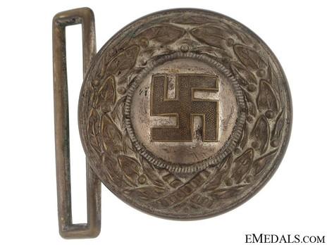 HJ Officer Lower Leader Belt Buckle Type I Obverse & Reverse