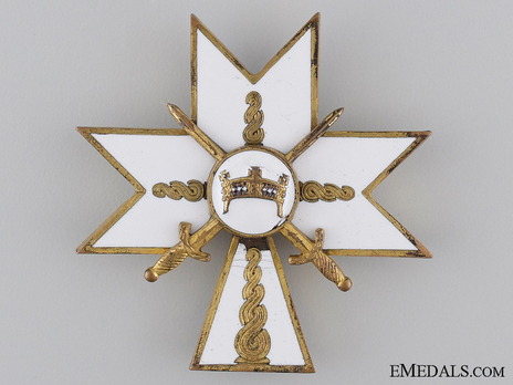 II Class Officer (with swords) Obverse