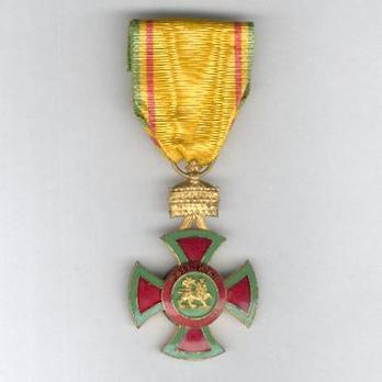 Order of Emperor Menelik II, Knight Obverse