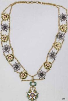 National Order of Merit, Type III, Collar