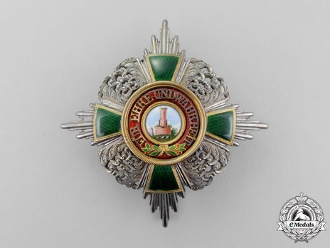 Commander Breast Star (in silver and silver gilt) Obverse