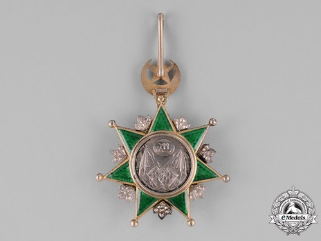 Order of Osmania, Civil Division, I Class Reverse