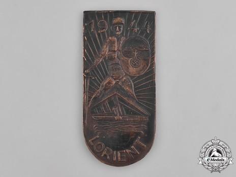 Lorient Shield (in metal) Obverse
