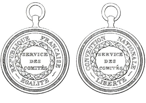 Copper Medal (Committee Attendant) Obverse and Reverse