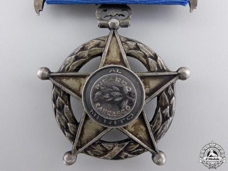 III Class Medal Reverse