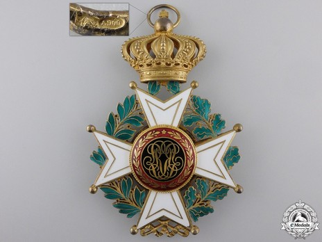 Grand Cross (Civil Division, 1951-) (by P. De Greef) Reverse