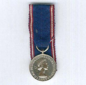 Miniature Silver Medal (1952-) Obverse