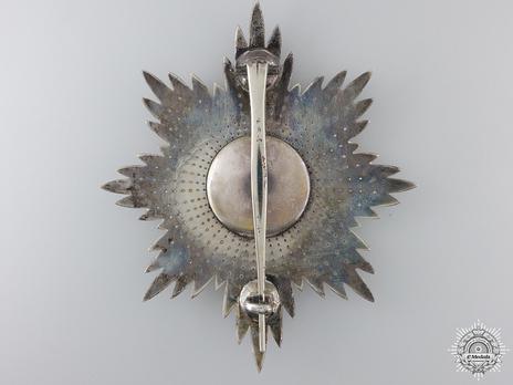 Grand Cross Breast Star (1938-) Reverse