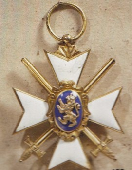 II Class Honour Cross (in silver gilt, with swords 1870-1918)