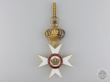 II Class Commander (1818-1918) Reverse
