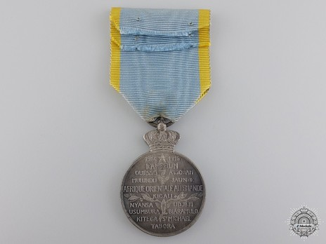 """Silver Medal (for Belgians, with """"1914-1916,"""" stamped """"A. MATTON"""") Reverse"""