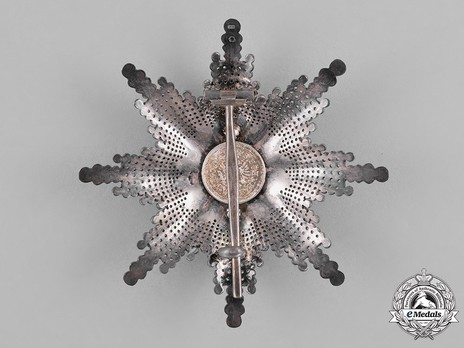 Order of Franz Joseph, Type II, Civil Division, Commander Breast Star