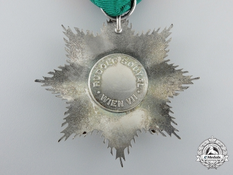 II Class Star (for combat service, with swords) Reverse
