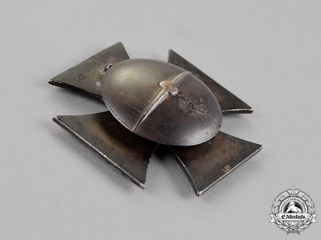 Iron Cross I Class, by Wächtler & Lange (L 55, screwback) Reverse