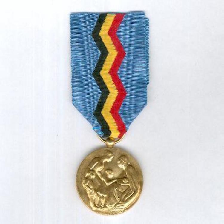 Gilded bronze medal obv18