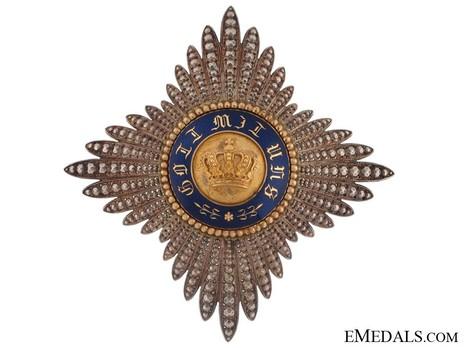 Civil Division, Type I, II Class Breast Star (in silver gilt)