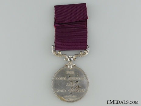 Silver Medal (1911-1930) Reverse