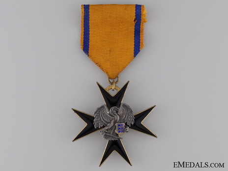 Order of the Eagle Cross, V Class Cross Obverse