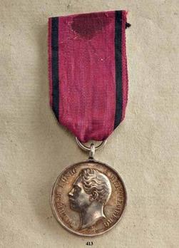 """Civil Merit Medal, Type III, in Silver (stamped """"VOIGT"""")"""