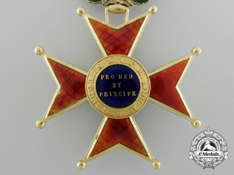 Order of St. Gregory the Great Grand Officer (Civil Division) (with gold) Reverse