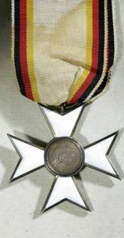 Military Merit Cross, II Class Cross (in silver gilt, 1861-1896)