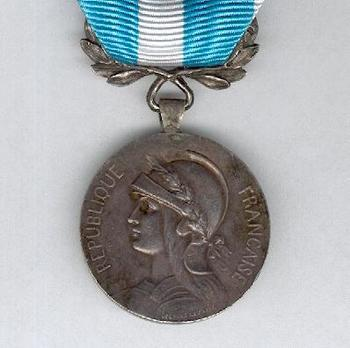 """Silver Medal (stamped """"GEORGES LEMAIRE"""") (by Mercier) Obverse"""