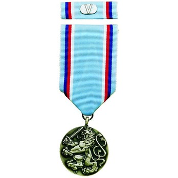 Medal of the Army of the Czech Republic, III Class Medal Obverse