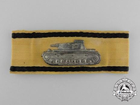 Tank Destruction Badge, in Gold Obverse