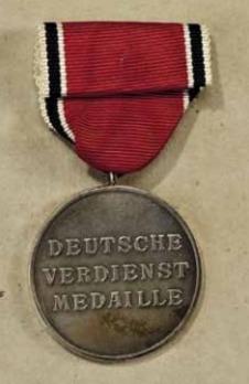 German Eagle Order, Silver Merit Medal (Latin version) Reverse