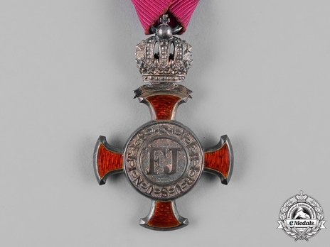 Type III, Civil Division, III Class Cross (with crown) Obverse