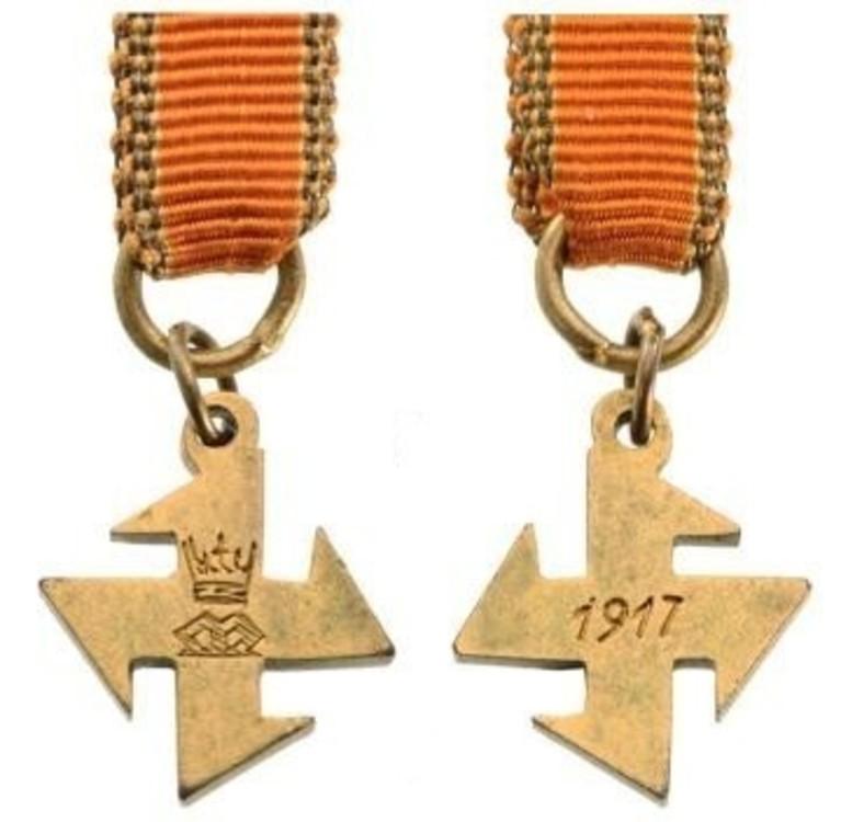 Ii class cross miniature obverse and reverse