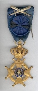 Officer (with swords clasp, 1915-1951) Obverse