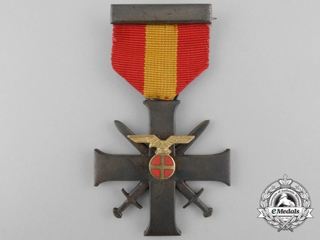 Order of Bravery and Loyalty, II Class Cross Obverse