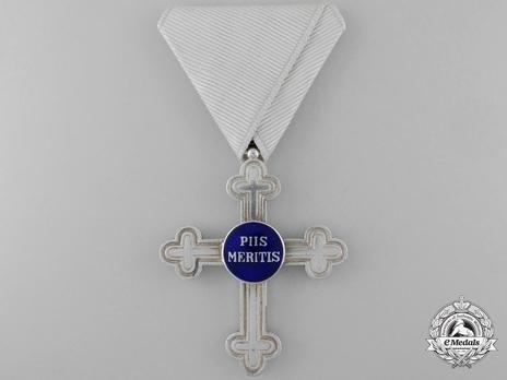 "Merit Cross ""Piis Meritis"" for Military Chaplains, Type III, Civil Division, II Class"