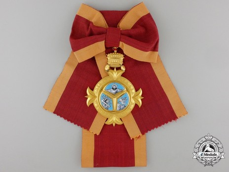 Order of the Holy Trinity, Grand Cross Obverse