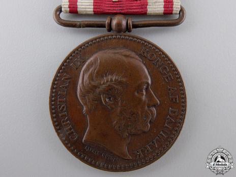 """Bronze Medal (stamped """"ALPHEE DUBOIS"""") Obverse"""