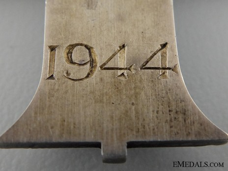 Silver Cross (1937-1948) Reverse Detail