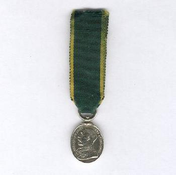 Miniature Silver Medal (with King George V effigy) Obverse