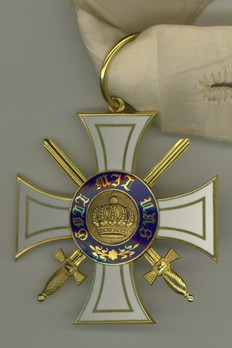 Order of the Crown, Military Division, Type I, III Class Cross (with swords)