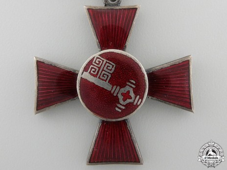 Hanseatic Cross (in silvered bronze) Obverse