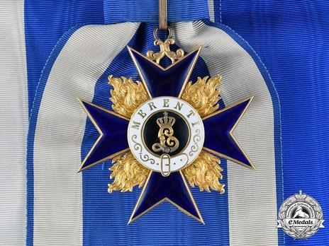 Order of Military Merit, Civil Division, I Class Cross (in Gold)