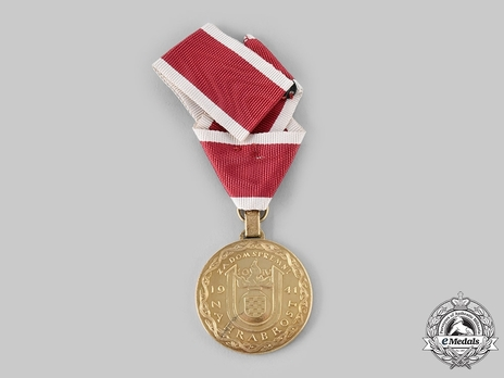 Ante Pavelic Gold Bravery Medal Reverse