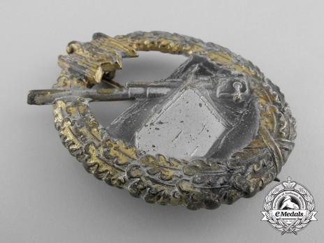 Coastal Artillery War Badge, by H. Aurich Obverse