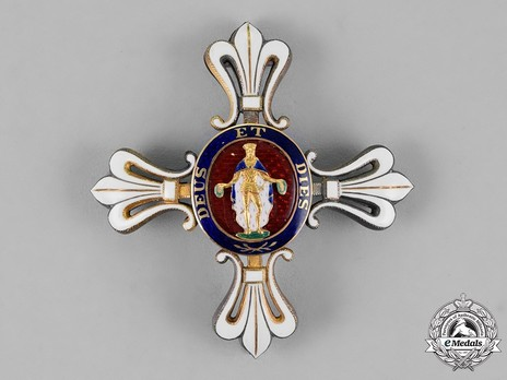 Civil Merit Order of St. Louis, Commander Breast Star Obverse