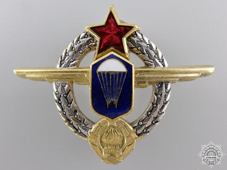 Paratrooper Badge Obverse