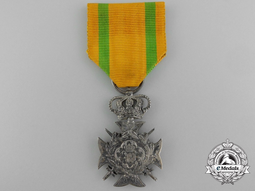 I class cross for non commissioned officers and soldiers for 30 years 1882 obverse 11