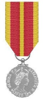 Silver Medal (for gallantry) Obverse