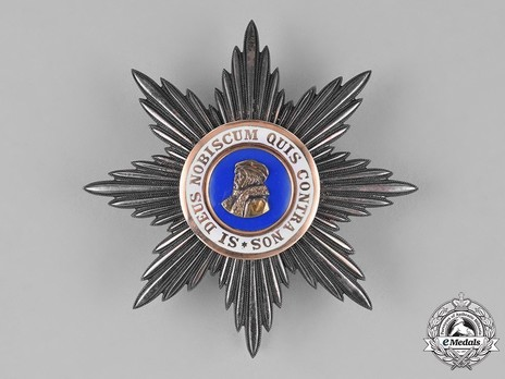 Grand Cross Breast Star (in silver and silver gilt) Obverse